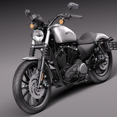 Harley-Davidson Iron 883 2015 3D Model