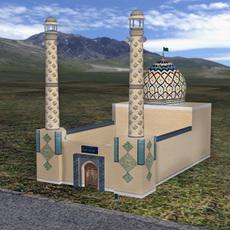 Persian Mosque 3D Model