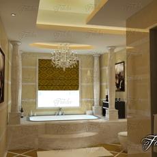 Bathroom 52 3D Model