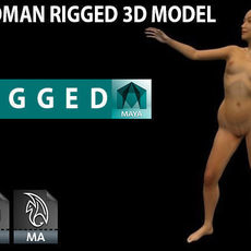 Woman - Rigged 3D Model