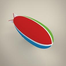 Blimp 3D Model