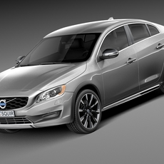 Volvo S60 Cross Country 2016 3D Model