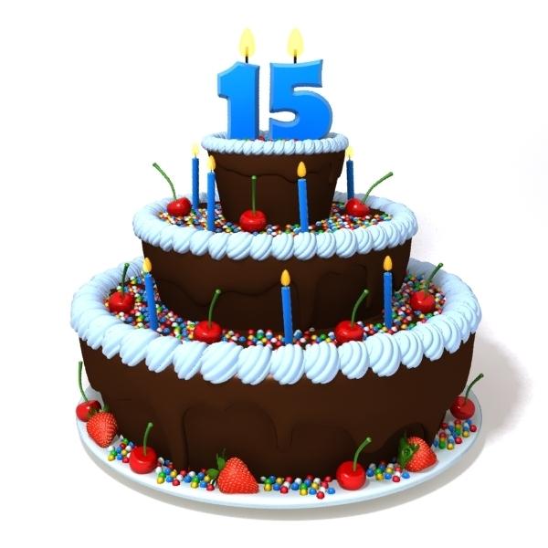 Incredible Birthday Cake 3D Model Funny Birthday Cards Online Hendilapandamsfinfo