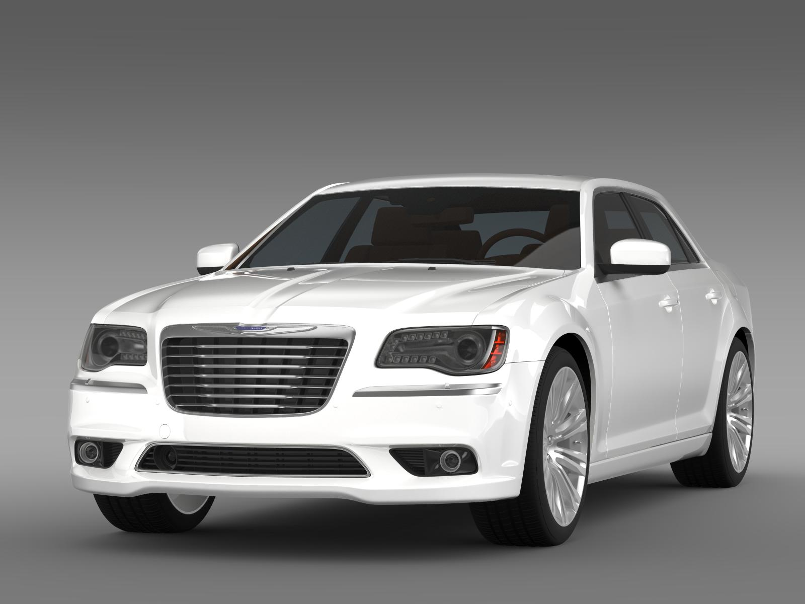 chrysler 300c 2013 3d model. Black Bedroom Furniture Sets. Home Design Ideas