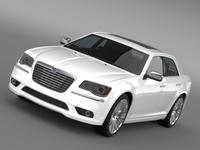 Lancia Thema 2014 3D Model