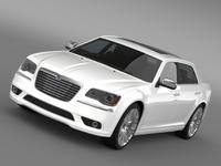 Lancia Thema 2014 LWB 3D Model