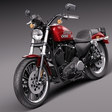 Harley-Davidson Iron 883 Roadster 2015 3D Model