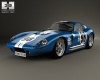 Shelby Cobra Daytona 1964 3D Model