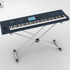 Sound Synthesizer 3D Model