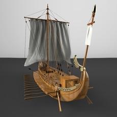 Roman Battle 3D Model