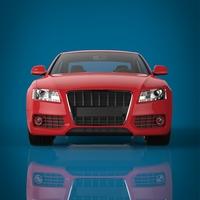 Sports car 3D Model