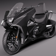 Honda NM4 Vultus 2014 3D Model