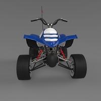 Sports quad bike 3D Model