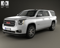 GMC Yukon XL 2014 3D Model