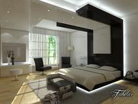 Bedroom 04 3D Model