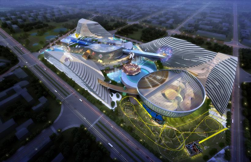 City shopping mall 015 3D Model