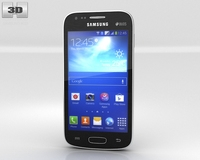 Samsung Galaxy Ace 3 Black 3D Model