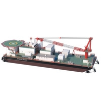 Offshore Barge 3D Model