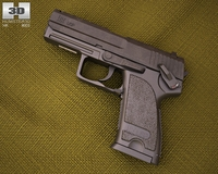 Heckler & Koch USP 3D Model