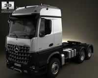Mercedes-Benz Arocs Tractor Truck 2013 3D Model