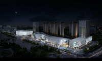 City shopping mall 030 3D Model