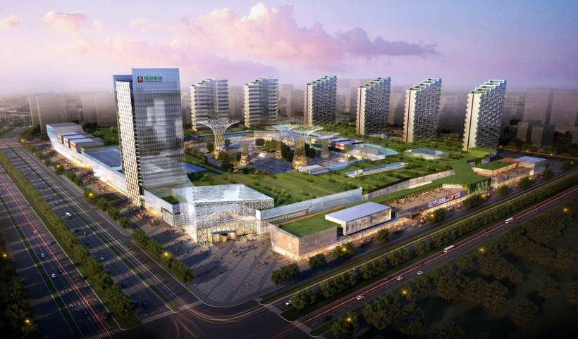 City shopping mall 031 3D Model