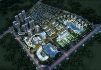 Office buildings 006 3D Model