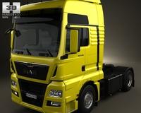 MAN TGX Tractor Truck 2012 3D Model