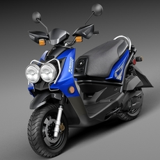 Yamaha Zuma 125 Scooter 2014 3D Model