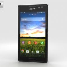Sony Xperia C 3D Model