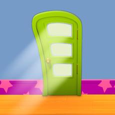 Door Cartoon 3D Model