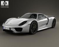 Porsche 918 Spyder 2015 3D Model