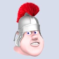 Roman soldier head 3D Model