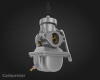 Carburetor 3D Model
