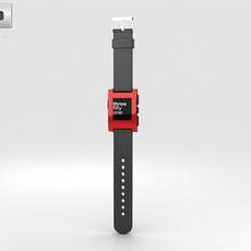 Pebble E-Paper Watch 3D Model