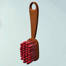 Brush 3D Model