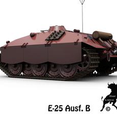 E-25 Ausf. B 3D Model
