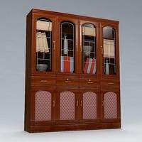 Breakfront Cabinet 3D Model