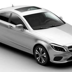 Mercedes CLS Class 2015 3D Model