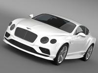 Bentley Continental GT Speed 2015 3D Model