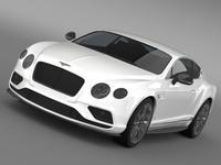 Bentley Continental GT V8 S 2015 3D Model
