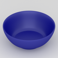 Free Bowl 3D Model