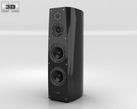 Sony SS-AR1 Speaker 3D Model