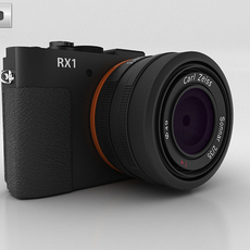 Sony Cyber-shot DSC-RX1 3D Model