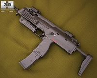 Heckler & Koch MP7 3D Model