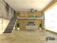 Split level 01 3D Model