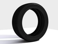 Tyre 3D 3D Model