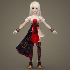 Toon character Eli 3D Model