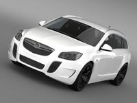Vauxhall Insignia VRX Sports Tourer 2013 3D Model