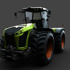 Model 3D of Claas Xerion 5000 Trac VC 2015 3D Model